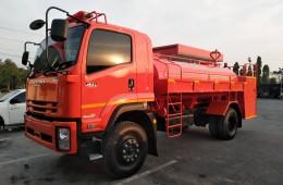 ผลงานที่ผ่านมา – รถบรรทุกน้ำดับเพลิงถังรี